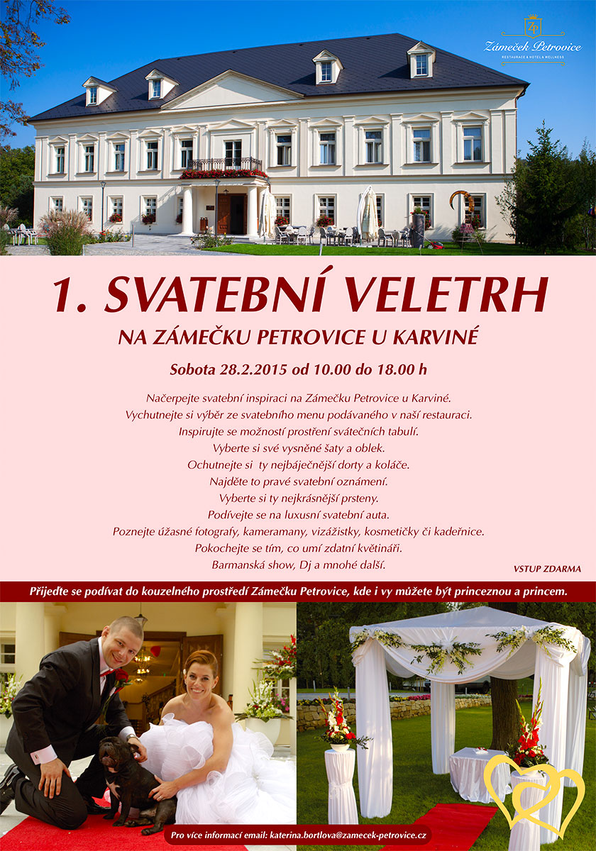 1. svatební veletrh Petrovice u Karviné