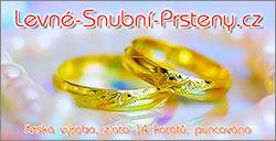 Levné snubní prsteny
