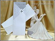 Svatební oznámení s kapsou vzor 0940