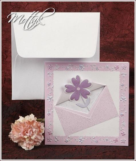 Svatební oznámení 2356 fialové