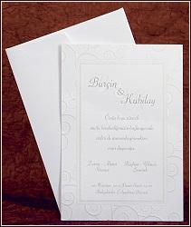 Jednoduché svatební oznámení vzor 2446