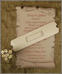 Retro svatební oznámení vzor 2468