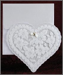 Svatební oznámení vzor 2472 srdce