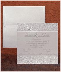 Jednoduché svatební oznámení vzor 2480 čtverec