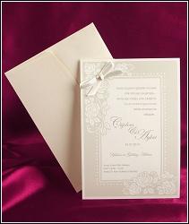 Svatební oznámení vzor 2507 s rámečkem