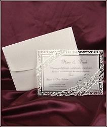Průsvitné svatební oznámení vzor 2509