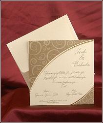 Elegantní svatební oznámení vzor 2514