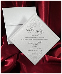 Perleťové svatební oznámení vzor 2529