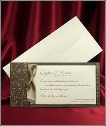 Luxusní svatební oznámení vzor 2536
