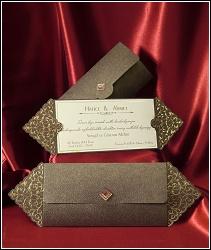 Luxusní svatební oznámení 2565 s etují.
