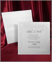 Decentní svatební oznámení vzor 2566