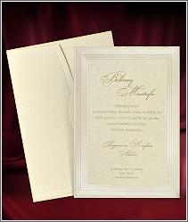 Svatební oznámení ve formě luxusní karty s podtiskem 2684.