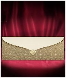 Elegantní svatební oznámení se zlatou výzdobou za přijatelnou cenu 2728.