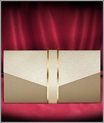 Svatební oznámení připomínající luxusní svatební obálku 2730.