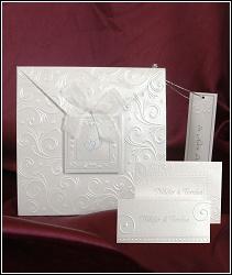 Luxusní svatební oznámení vzor 3606