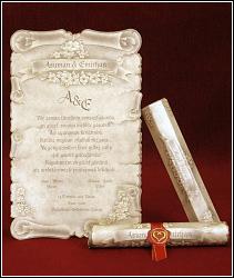 Svatební oznámení vzor 5301 luxusní listina