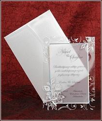 Jemné svatební oznámení vzor 5313