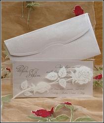 Svatební oznámení vzor 5345 s růžemi