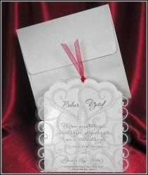 Svatební oznámení vzor 5354 v průhledné kapse
