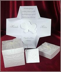 Svatební oznámení vzor 5358 krabička