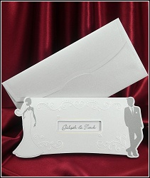 Svatební oznámení vzor 5362 Mr. & Mrs. Smith