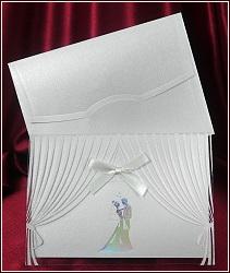 Svatební oznámení vzor 5370 s oponou