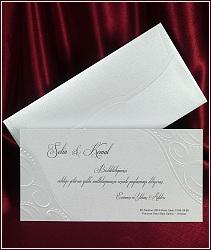 Elegantní svatební oznámení vzor 5395 karta