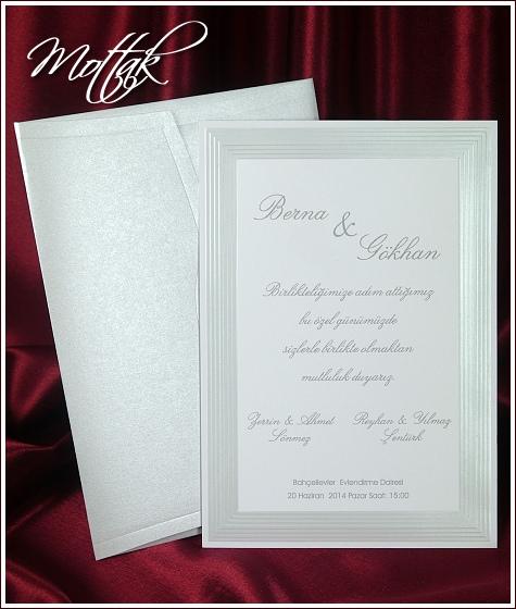 Svatební oznámení 5396
