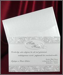 Obdélníkové svatební oznámení vzor 5405