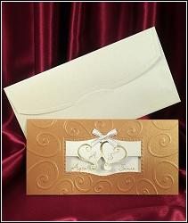 Skládací svatební oznámení vzor 5414