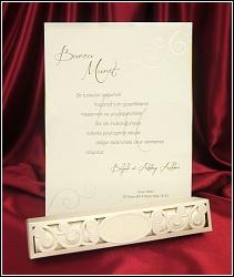 Svinovací svatební oznámení 5433 v krabičce