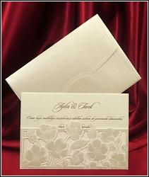 Svatební oznámení 5459 s máky.