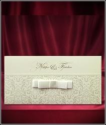 Dvoudílné svatební oznámení s kapsou 5483.