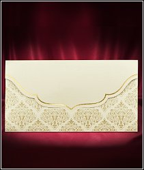 Jednodílné rozkládací svatební oznámení ve tvaru obálky vzor 5515