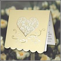 Svatební oznámení vzor F1008